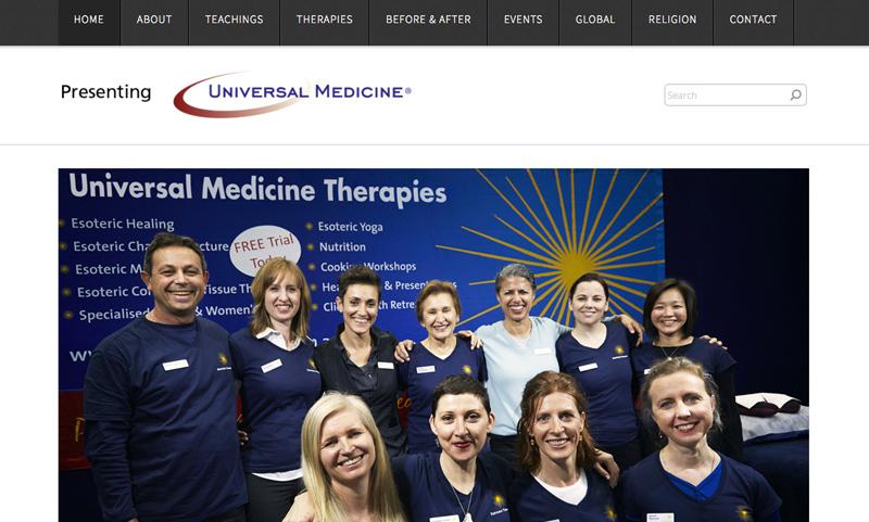 Presenting Universal Medicine